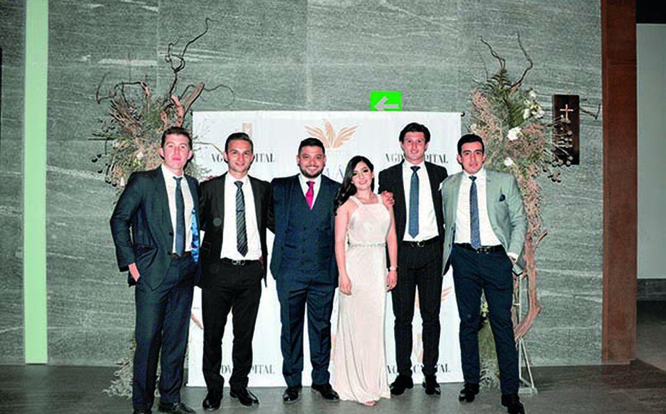 01 José Gabriel Barba, David Mendoza, Víctor Aguilera, Victoria Robles, Gerardo Paredes y Enrique de Anda