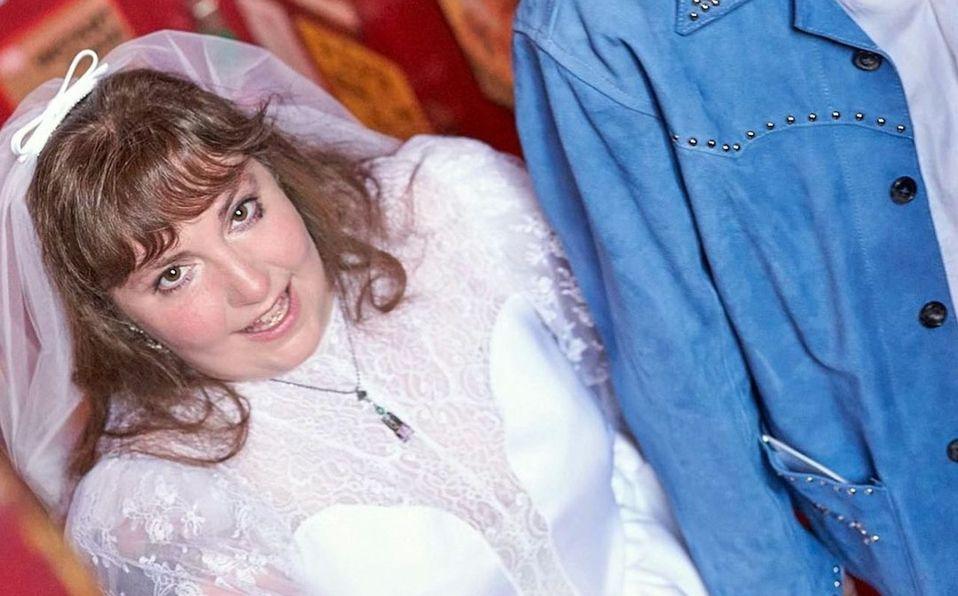 Lena Dunham comparte las primeras fotos de su boda y vestido de novia (Foto: Instagram)