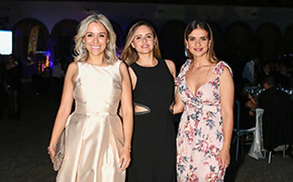 Gloria Michel, Cecilia Michel, Enrique Michel y Rocío Michel