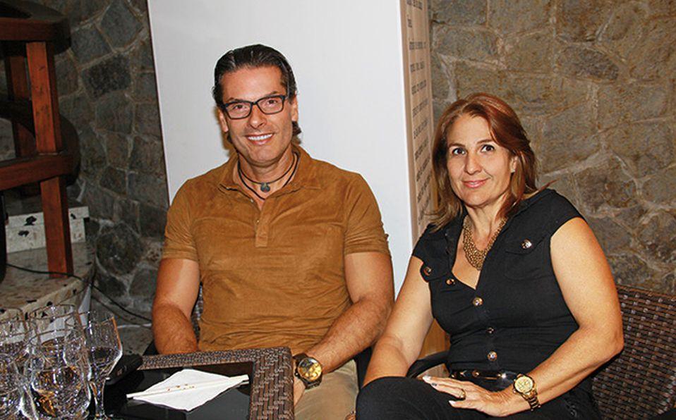 Diana de Carreto, Manuel Carreto, Aldo Guerra y Locha Arellano