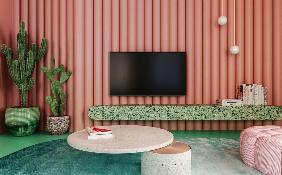 Reutov Design crea un departamento en Nueva York con esencia mexicana