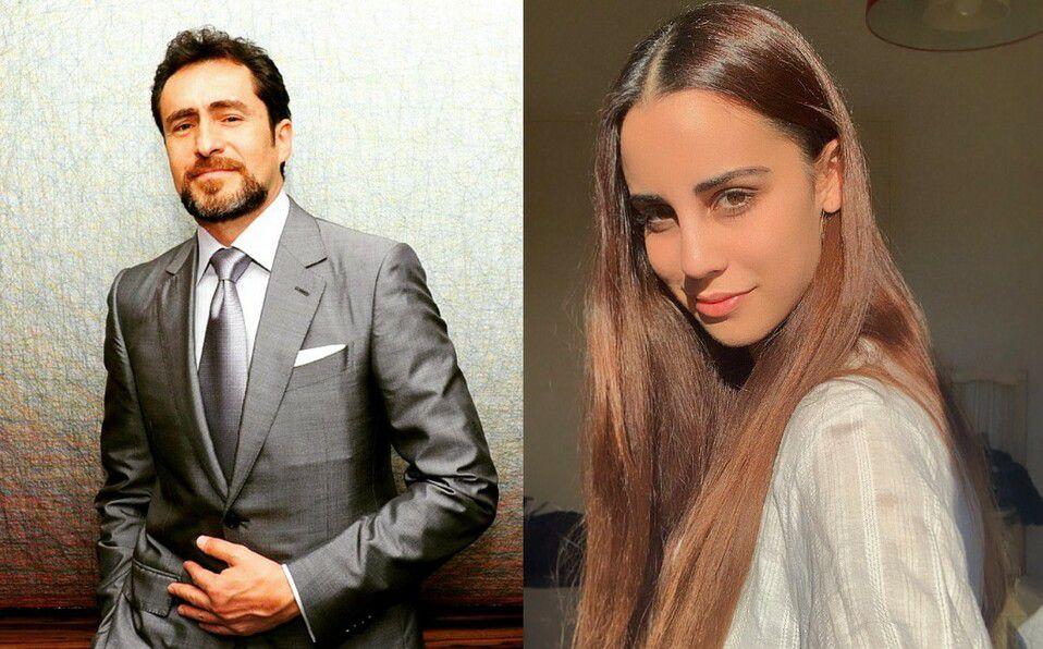 Demián Bichir. Ella sería su nueva novia tras la muerte su esposa Stefanie Sherk. (Foto: Instagram).