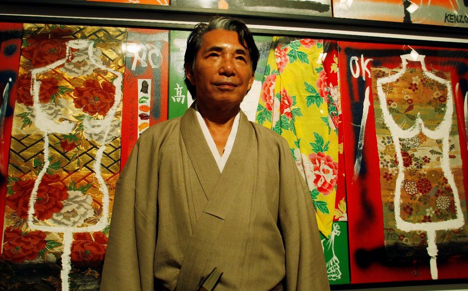 Kenzo Takada, el diseñador que trajo la moda japonesa al mundo (Foto: Reuters)