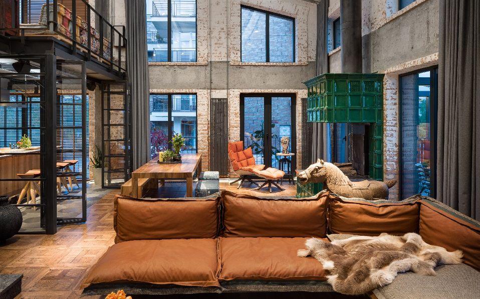 Hayloft, el nuevo proyecto residencial de Loft Buro en Ucrania. (Foto: Andrey Aveenko).
