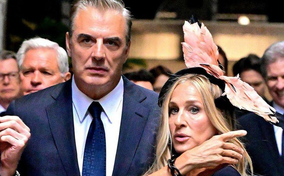 Sex and the City: Mr. Big y Carrie juntos en la grabación de la serie