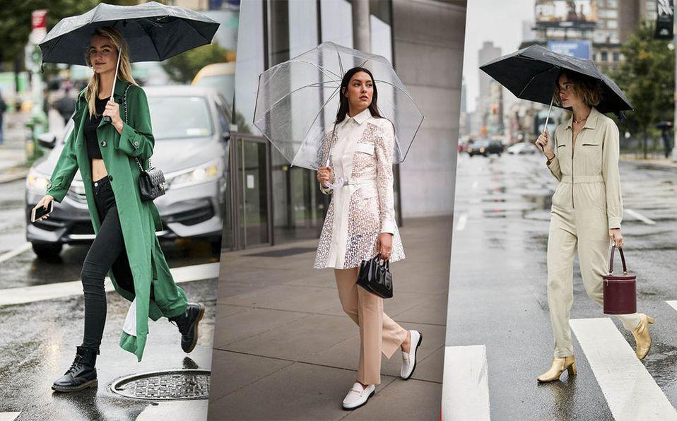 9 Ideas de oufits para época de lluvias/ Foto: Cortesía