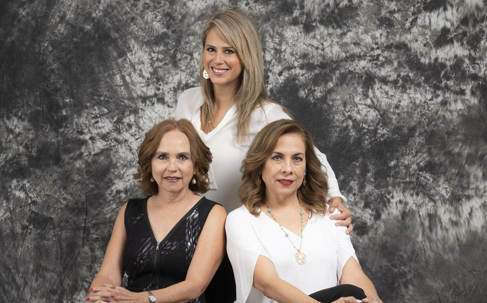 Lulú, Pinita y Juanny forman parte de la Asociación Mexicana de Diabetes Capítulo Laguna (Foto: Jos Álvarez)
