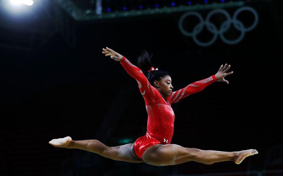 La gimnasta estadounidense ha ganado cinco campeonatos mundiales (Shutterstock).