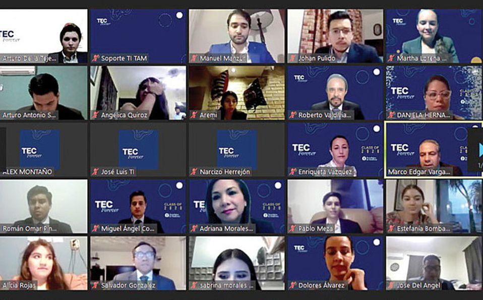 Graduados del Tec de Monterrey, tiene una emotiva ceremonia virtual / Foto: Cortesía