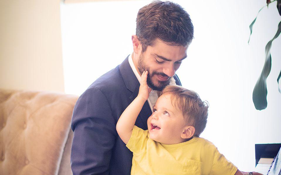 Yusef Guerra, un papá ejemplar