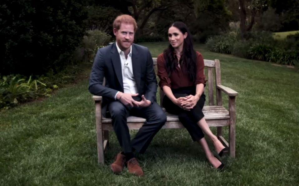 Meghan Markle y Harry hacen su primera aparición en televisión (Foto: Youtube)