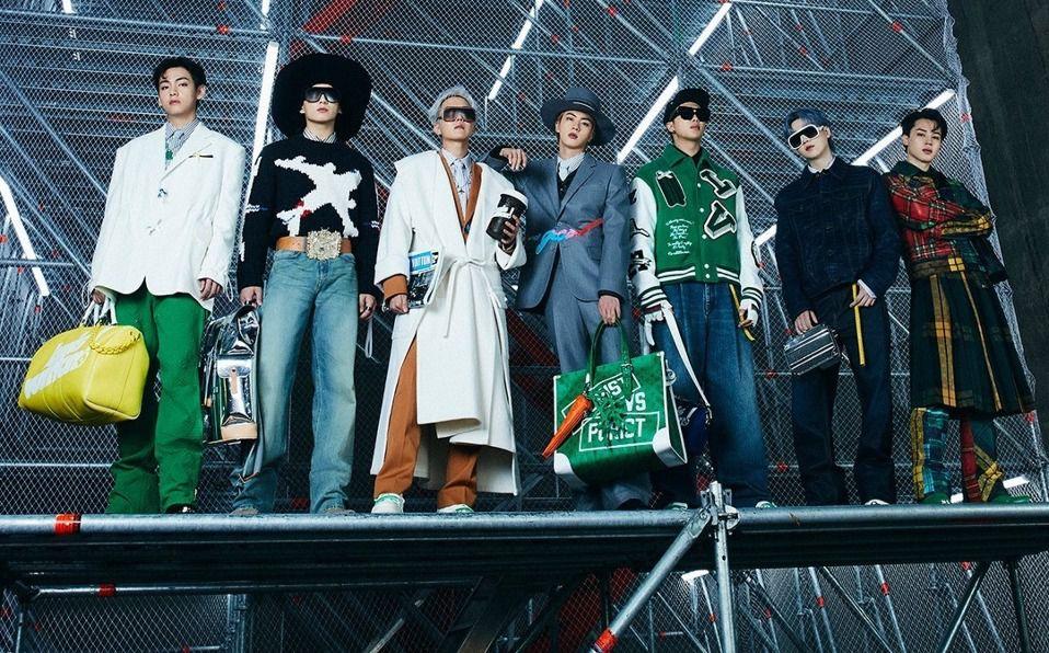 BTS y Louis Vuitton 2021: Así fue el desfile. Foto: Instagram