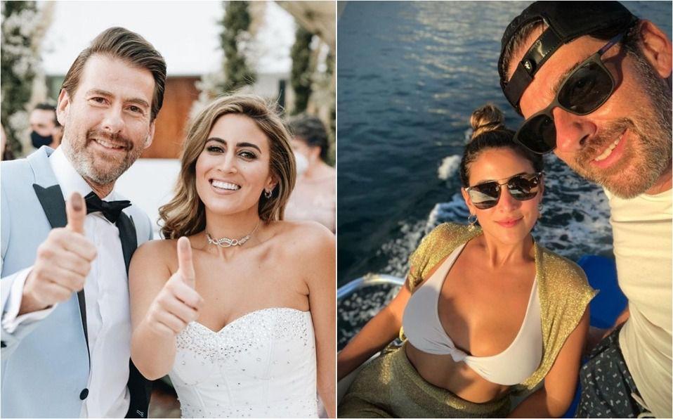 Sofía Rivera y Eduardo Videgaray: Así ha sido su luna de miel (Foto: Instagram)