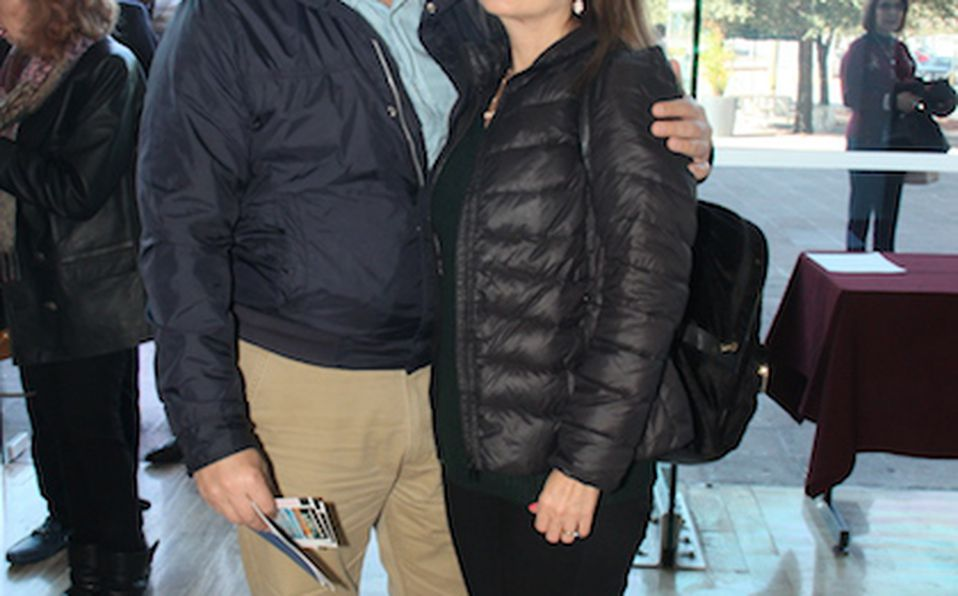 Yolanda de la Garza y Hugo Garza Leal