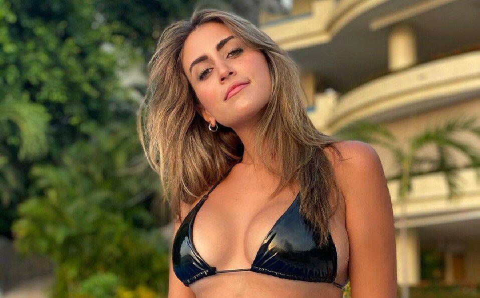 Sofía Rivera Torres en bikini con manga corta, tendencia verano. (Foto: Instagram).