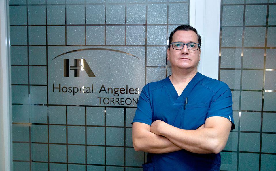Jorge Espinosa detecta nuevos brotes de coronavirus en Torreón (Foto: Vayron Infante)