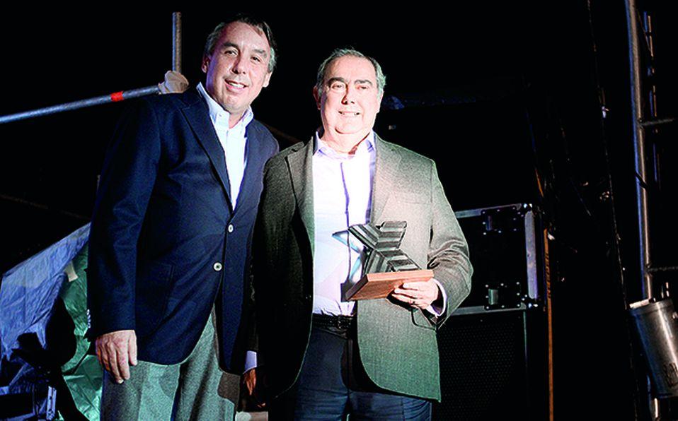 Emilio Azcárraga y Guillermo Romo