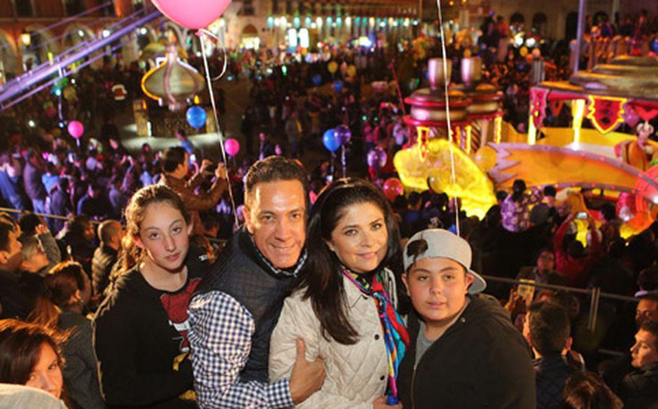 Victoria Fayad, Omar Fayad, Victoria Ruffo y Anuard Fayad