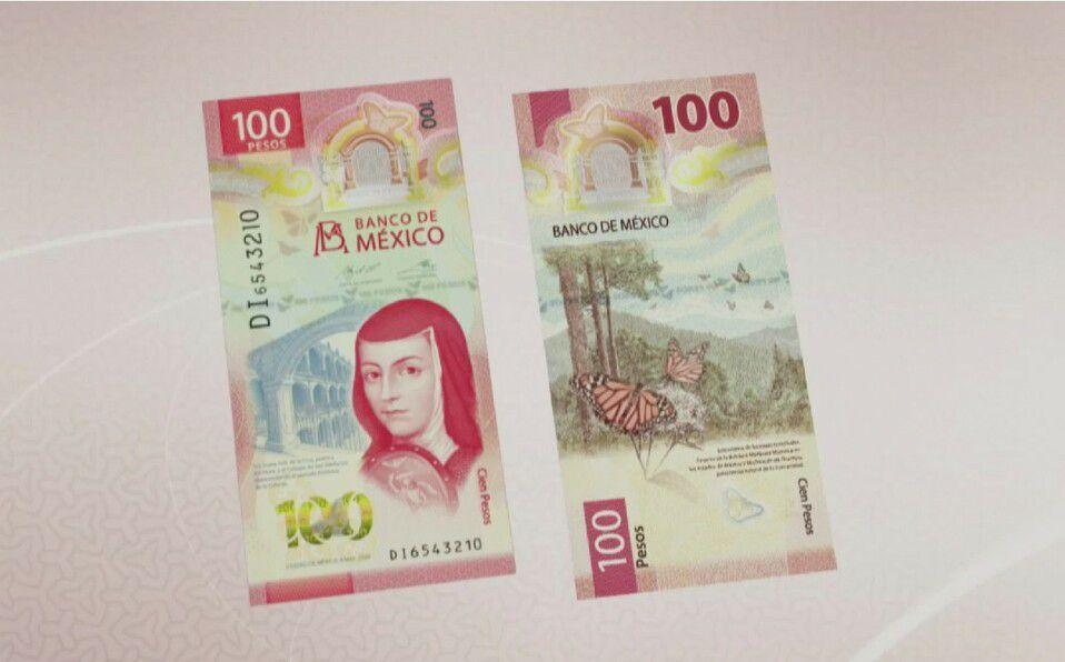 Billete de 100 pesos es reconocido como el más bonito del 2020. (Foto: Instagram).