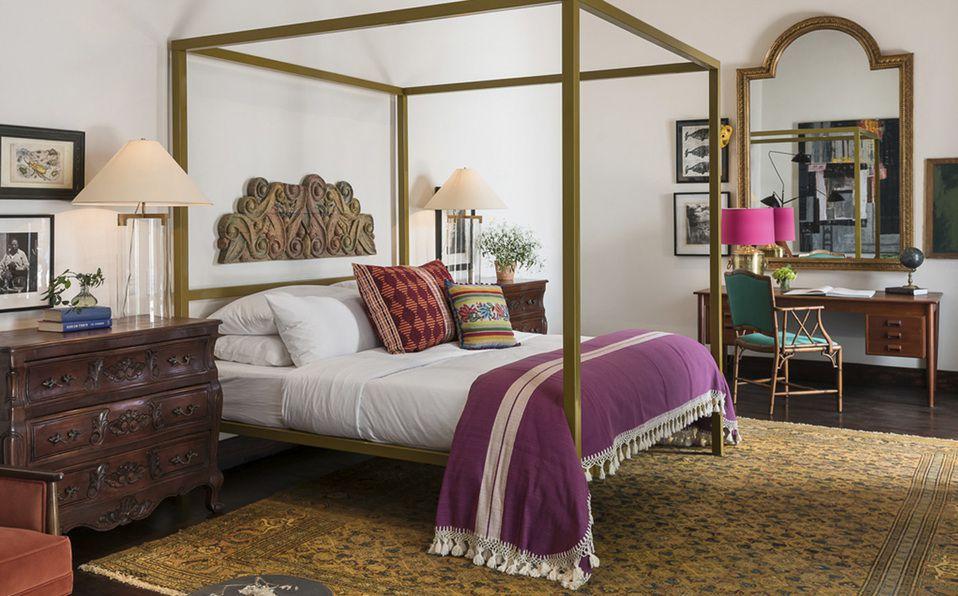 Conoce el encantador Hotel Amparo en el corazón de San Miguel de Allende. Fotografía: Cortesía Hotel Amparo
