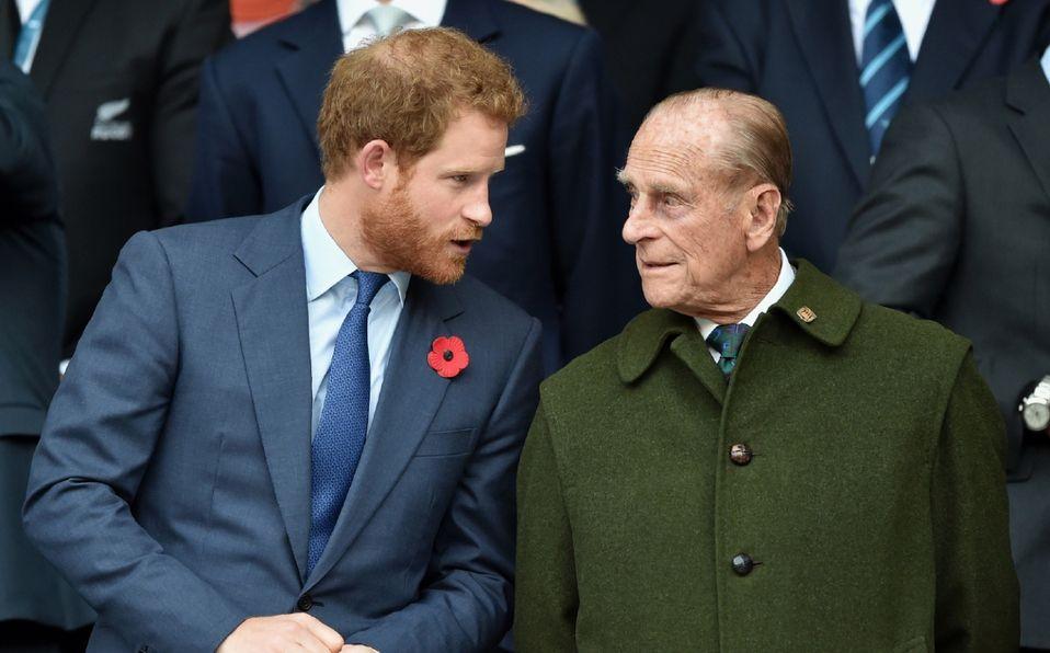 Príncipe Felipe advirtió a Harry de no casarse con una actriz (Foto: Getty Images)