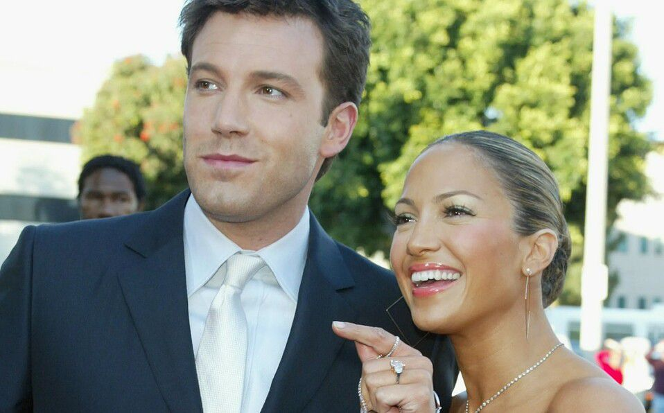 Ben Affleck. Jennifer Lopez: Así fue su anillo de compromiso hace 17 años (Foto: Instagram)