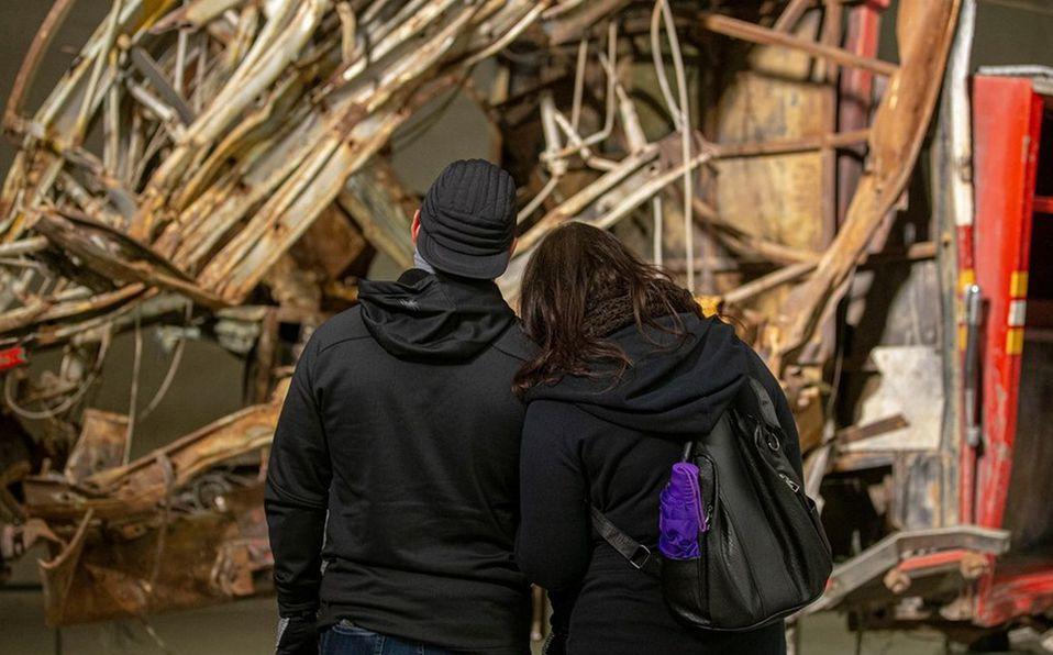 Es inevitable no sentir alguna emoción al observar los objetos y escuchar los testimonios. Foto: Instagram 9/11 Memorial & Museum