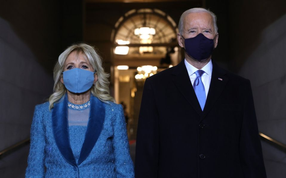 Jill Biden y Kamala Harris : Atuendos en investidura de Joe Biden (Foto: Getty Images)