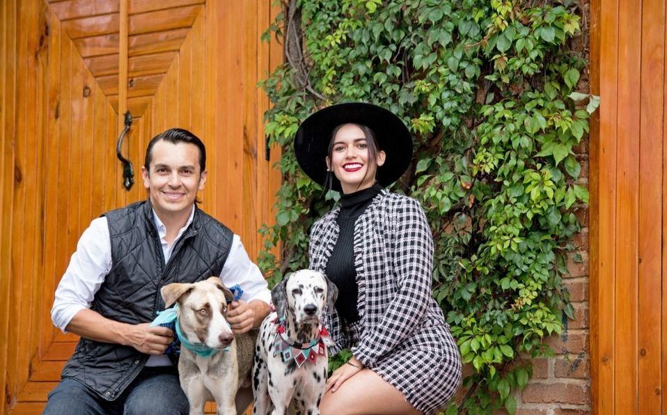 Giovanna Salazar y Froylan Caballero