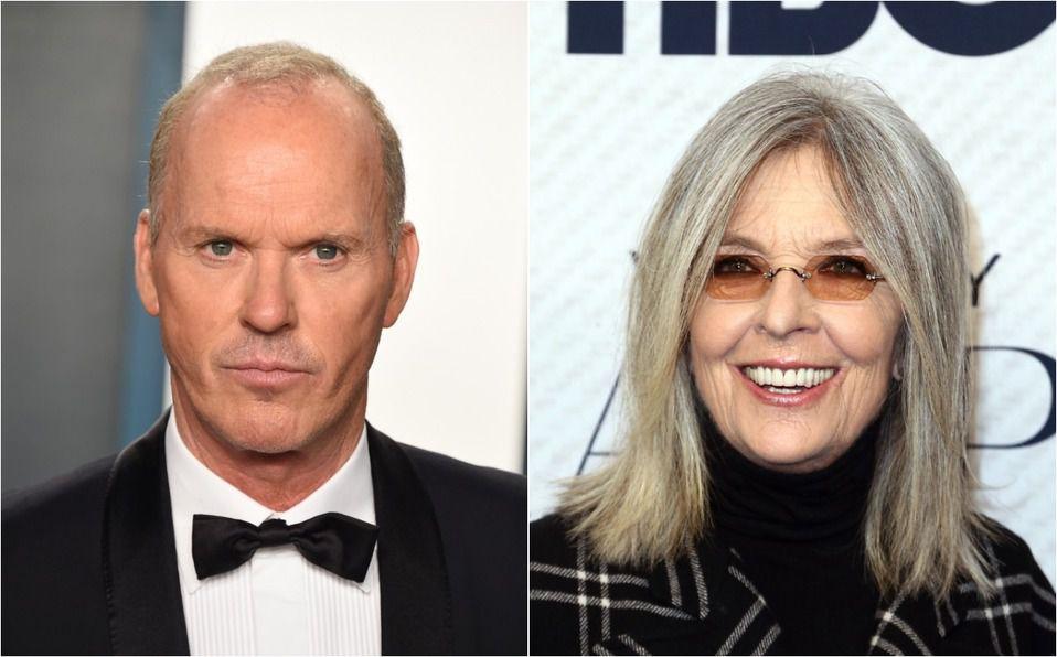 Diane Keaton y Michael Keaton: Famosos que se parecen, pero no son familia (Foto: Getty Images)