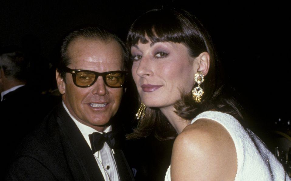 Anjelica Huston y su turbulenta relación con Jack Nicholson (Foto: Getty Images)