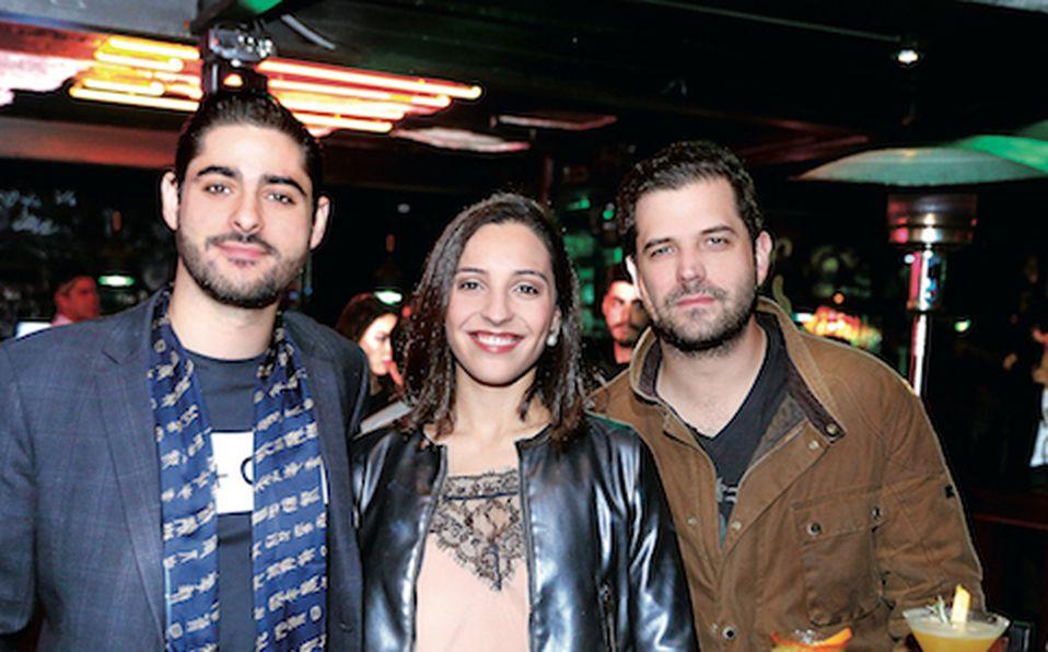 Mauricio López, Karina Fernández y Manuel Mendoza (4)