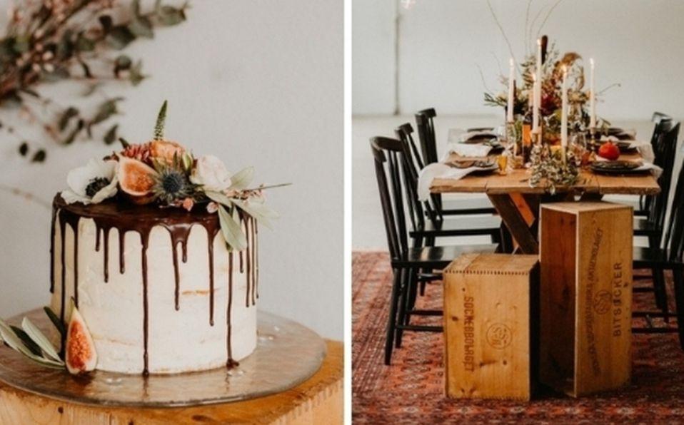 Tendencias de decoración para bodas en otoño