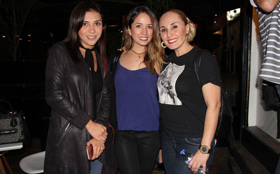Regina Pérez, Frida Gutierrez y Ale Yareth