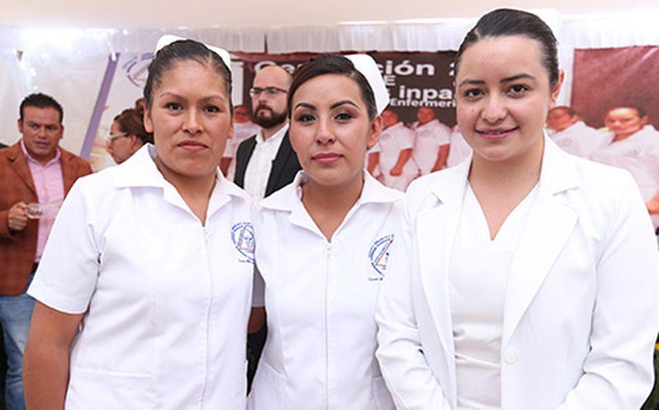 (principal) PATRICIA ALEJANDRO, JAZMÍN CORONA Y YESENIA CAMACHO