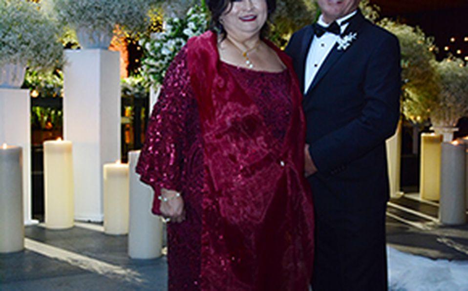 Saúl Zugasti y Roxana Tamez