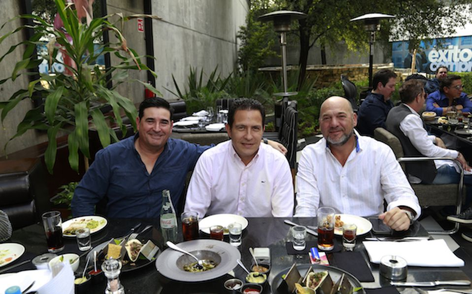 Claudio Zambrano, Juan González, Fede Santos, David Téllez y Goyo Martínez