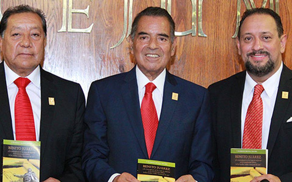 () José Castillo, Humberto Benítez y Willy Vega