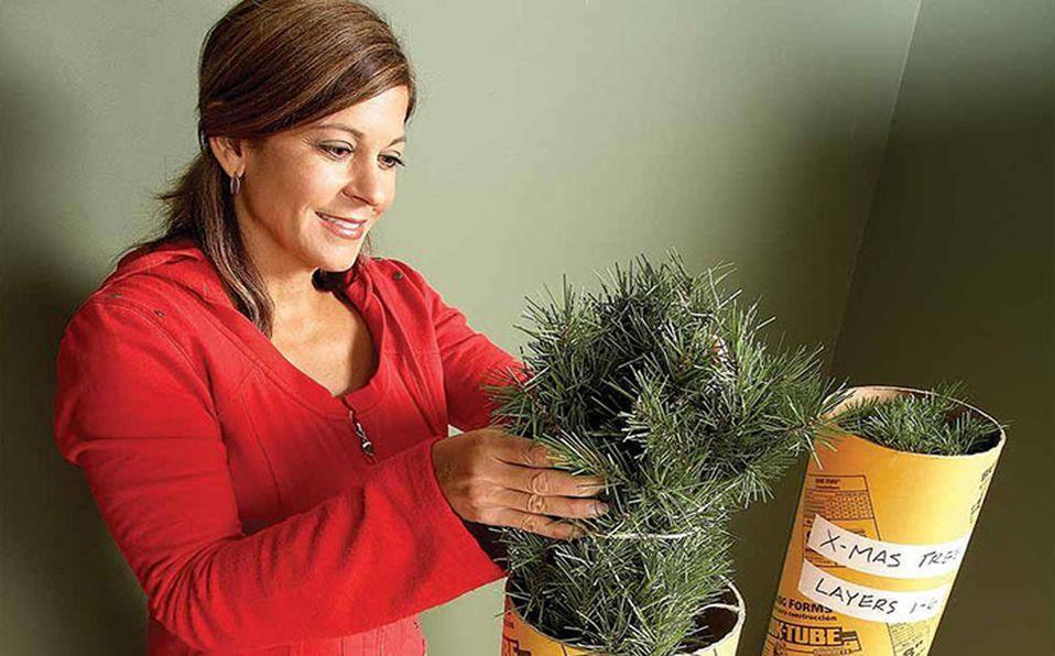 Descubre cuál es el mejor procedimiento para limpiar y desinfectar tu árbol de Navidad (Foto: Cortesía)