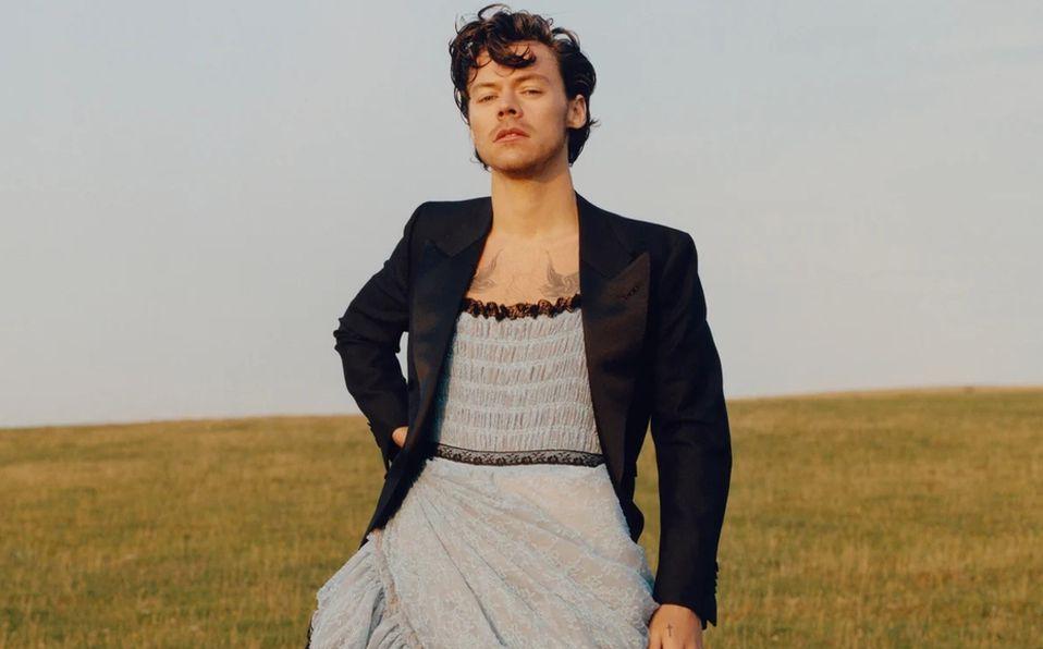 Harry Styles, el primer hombre en la portada de Vogue (Foto: Instagram)