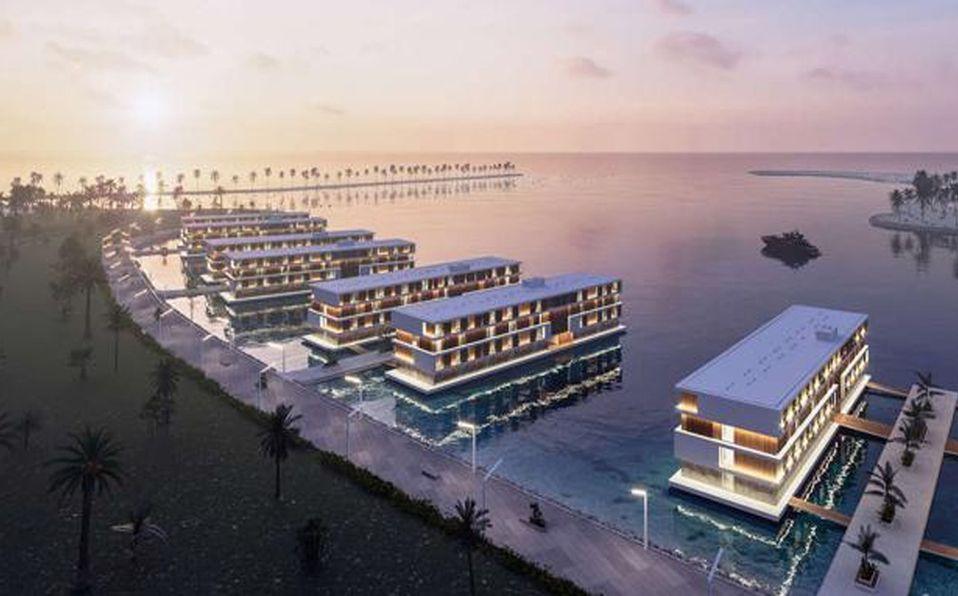 Qatar ha puesto en marcha la creación de 16 hoteles flotantes para el Mundial 2022 (Foto: Cortesía)