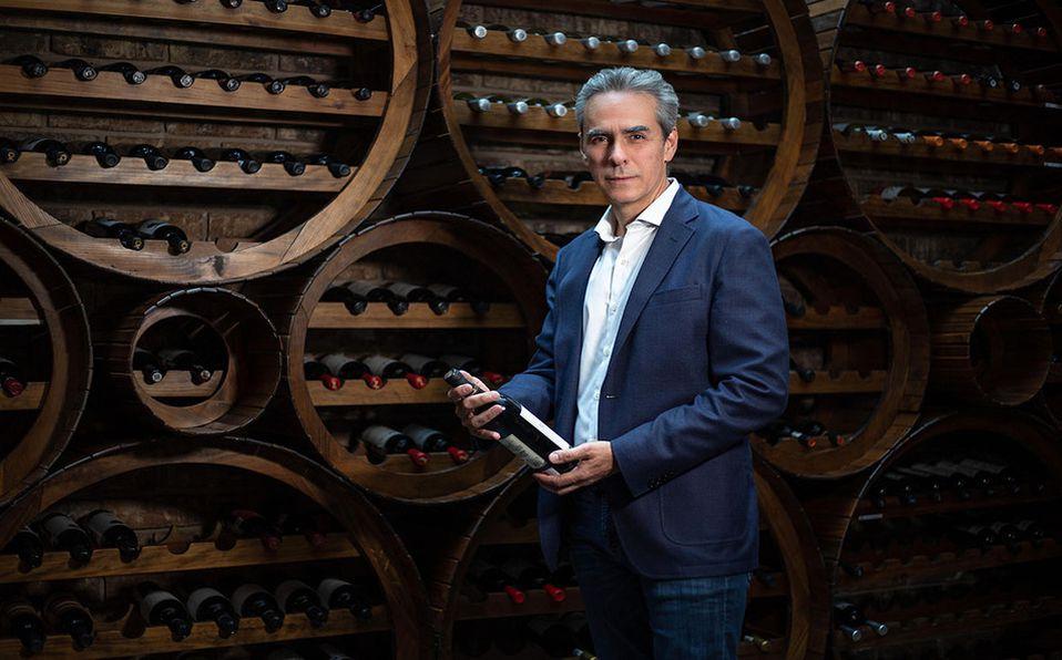 El presidente del Club Pachuca nos comparte los vinos que más disfruta. (Fotos: Carlos Dayan Aparicio)