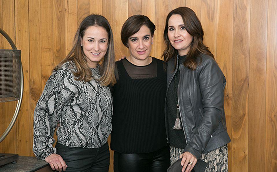 02 Lory González, Maricarmen Tejeda e Isabel Mantilla