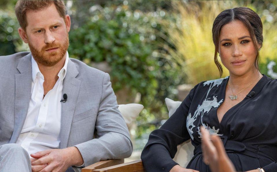 Meghan Markle confirma que la familia real fue racista con ella y su hijo (Foto: CBS)