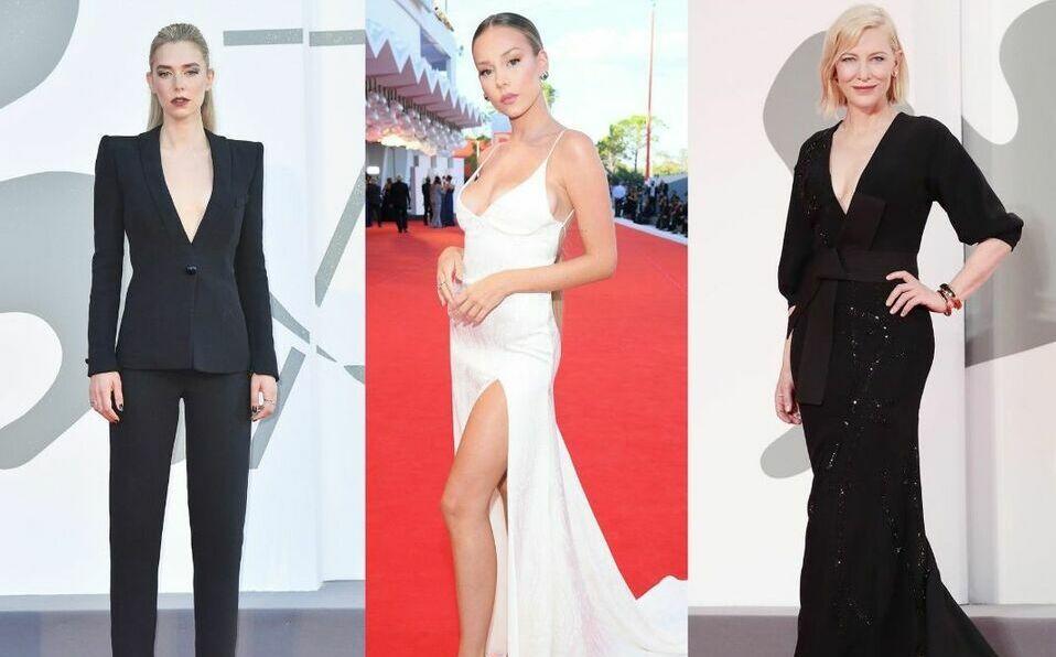 Ellas son las actrices mejores vestidas del Festival de Venecia 2020.