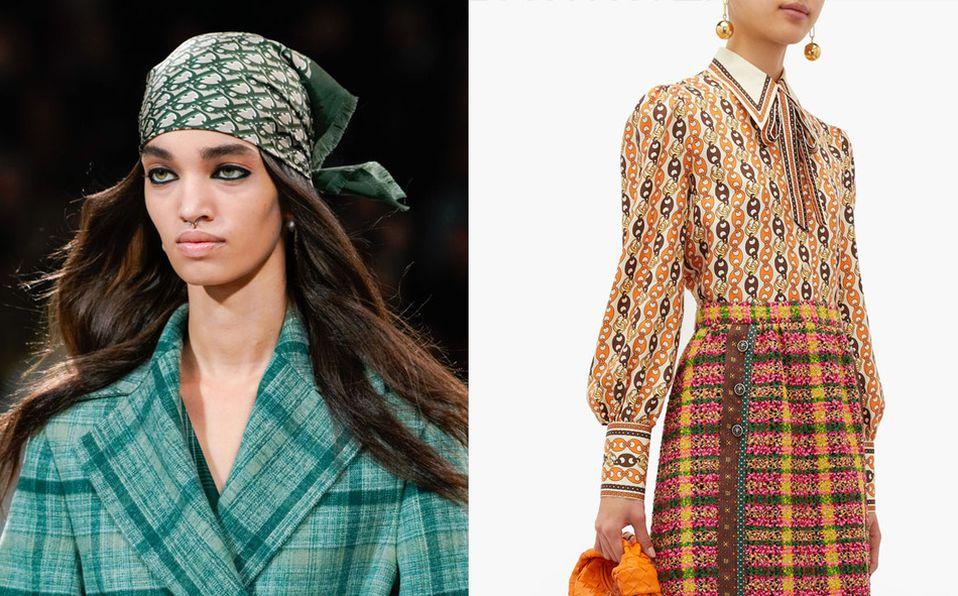 Inspírate en la moda de los 70 y dale un toque reto a tu look.