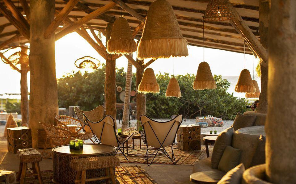 Eolo Beach Club es uno de los atractivos de este nuevo eco-resort todo incluido en Playa del Carmen.