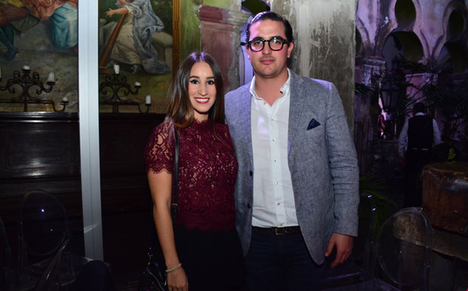 Darinka Navarro y Gustavo Orozco