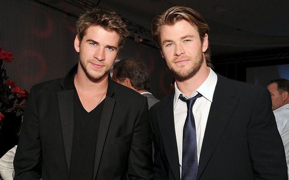 Chris Hemsworth y más famosos guapos con hermanos aún más hot (Foto: Instagram)