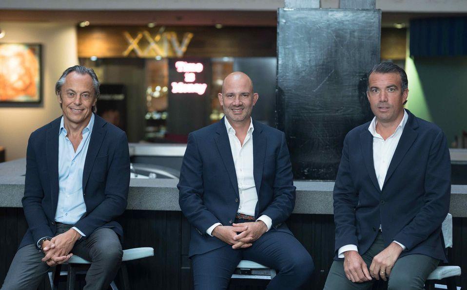 Xavier, Christian y Morgan son los tres socios fundadores de PREVITA.